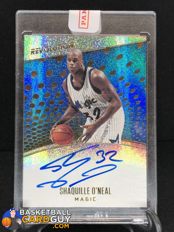 Shaquille O'Neal 2017-18 Panini Revolution Autographs - Basketball Cards