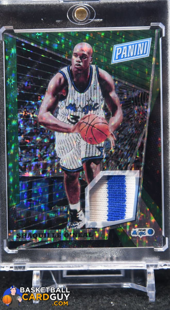 Shaquille O'Neal 2018 Panini National Convention Gold VIP Memorabilia #/15 - Basketball Cards