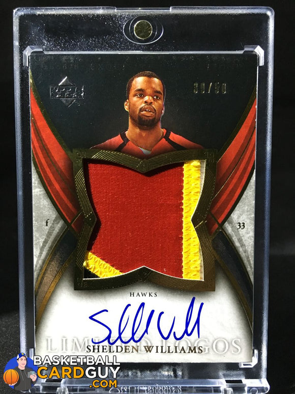 Shelden Williams 2006-07 Exquisite Limited Logos - Basketball Cards