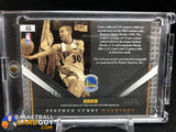 Stephen Curry 2010-11 Limited Monikers Materials #/99 - Basketball Cards