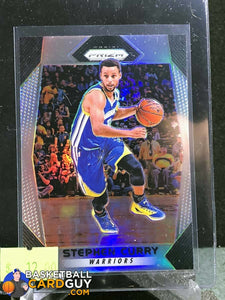 finest selection 664e8 70bd8 Stephen Curry 2017-18 Panini Prizm Prizms Silver #41