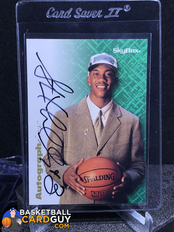 Stephon Marbury 1996-97 Skybox Autographics RC - Basketball Cards