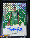 Tacko Fall 2019-20 Panini Mosaic Rookie Scripts #5 autograph, basketball card, rookie card