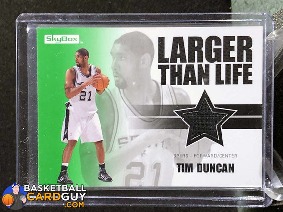 Tim Duncan 2008-09 SkyBox Larger Than Life - Basketball Cards