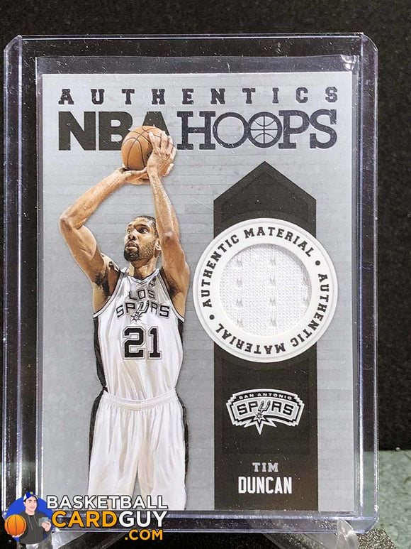 Tim Duncan 2013-14 Hoops Authentics - Basketball Cards