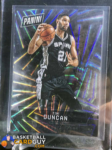 Tim Duncan Nationals Prizm Special /99 - Basketball Cards