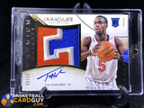 Tim Hardaway Jr. 2013-14 Immaculate Collection Premium RC Autograph Patches /25 - Basketball Cards