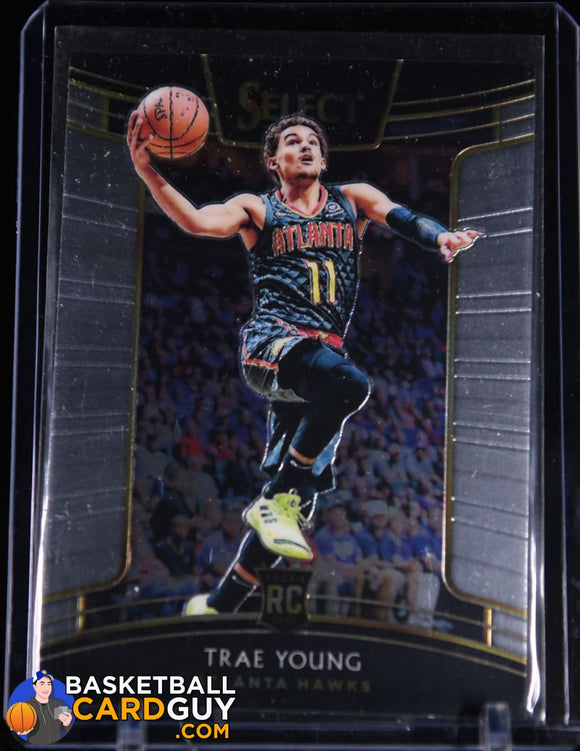 Trae Young 2018-19 Select #45 RC basketball card, rookie card