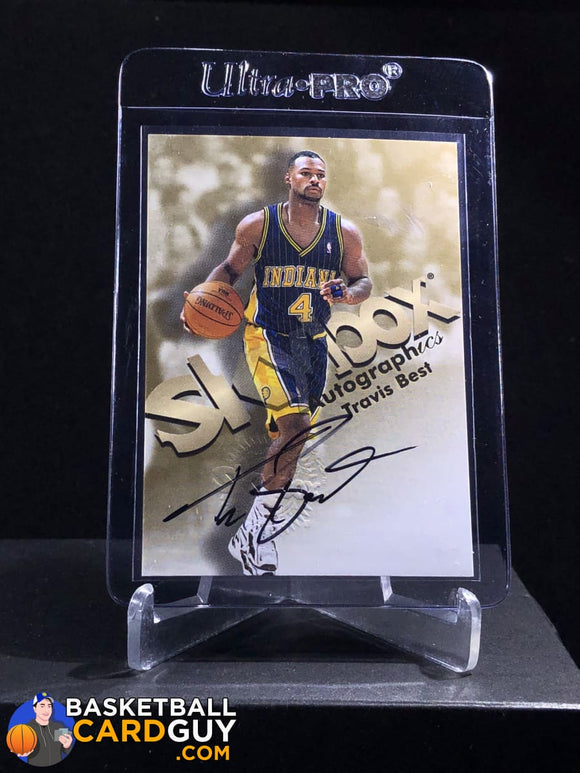 Travis Best 1998-99 Skybox Premium Autographics - Basketball Cards