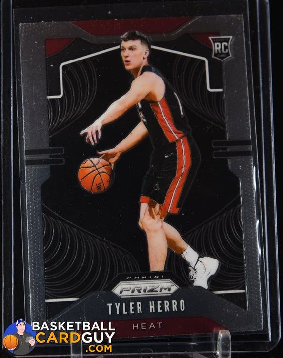 Tyler Herro 2019-20 Panini Prizm #259 RC basketball card, prizm, rookie card