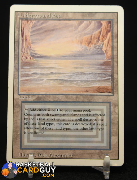 Underground Sea Dual Land 1993 Magic The Gathering Unlimited #286 R magic the gathering