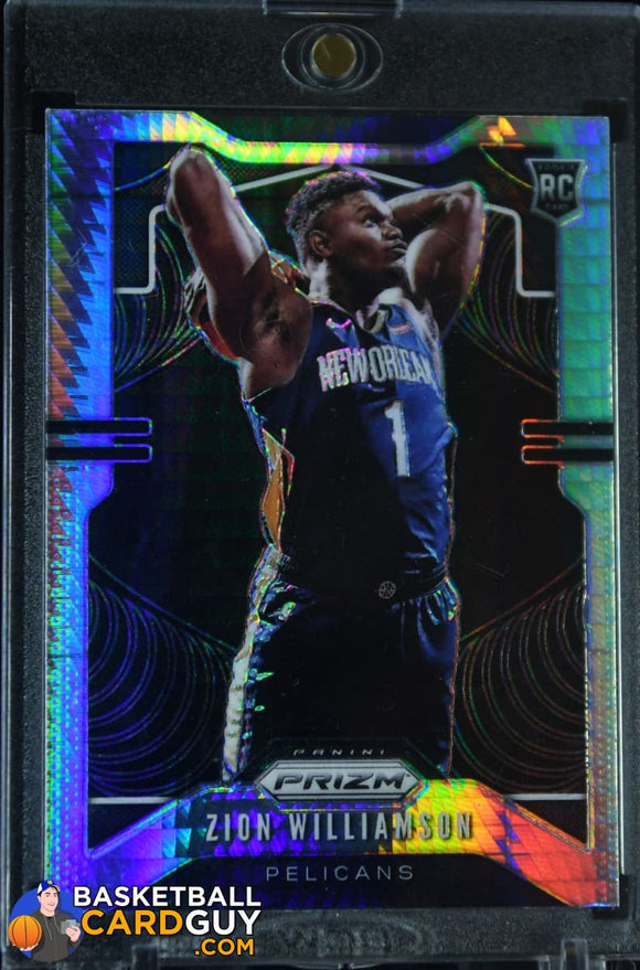 Zion Williamson 2019-20 Panini Prizm Prizms Hyper #248 (#1) - Basketball Cards