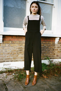 SIDE PARTY Lila relaxed dungarees