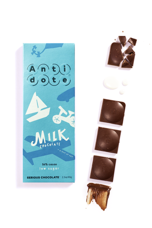 ANTIDOTE CHOCOLATE Classic Milk Chocolate Bar