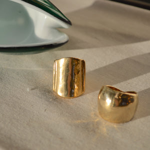 Sideline ring in brass