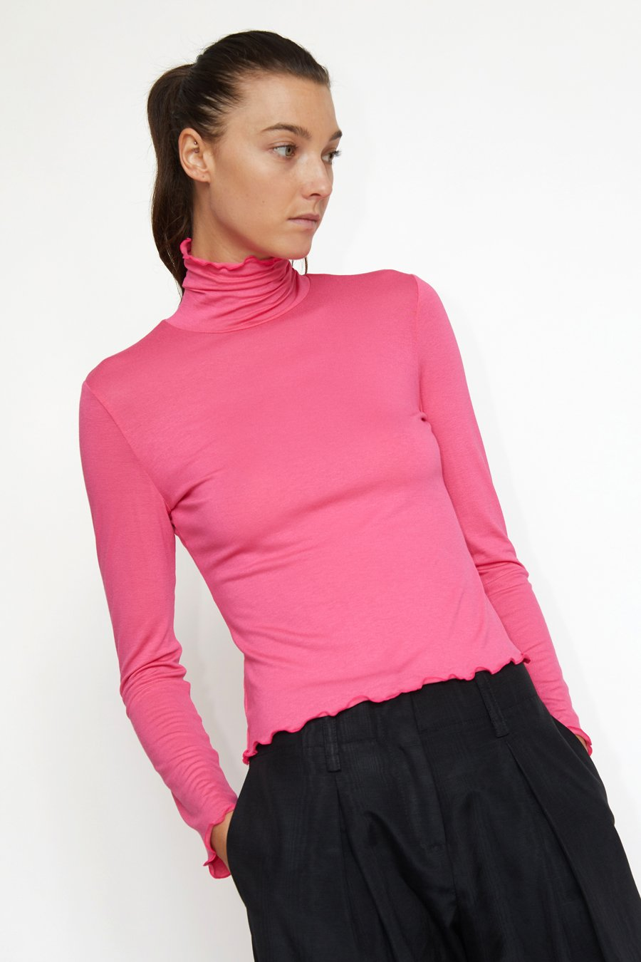 No.6 Rumi Turtleneck in Pink