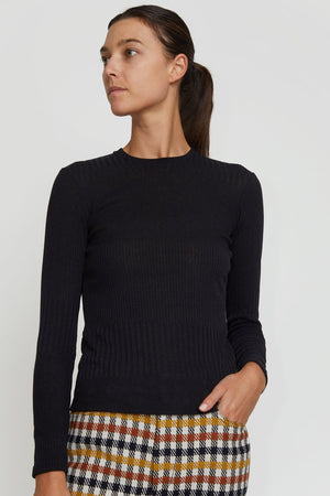 No.6 Stellan Crewneck Knit in Black