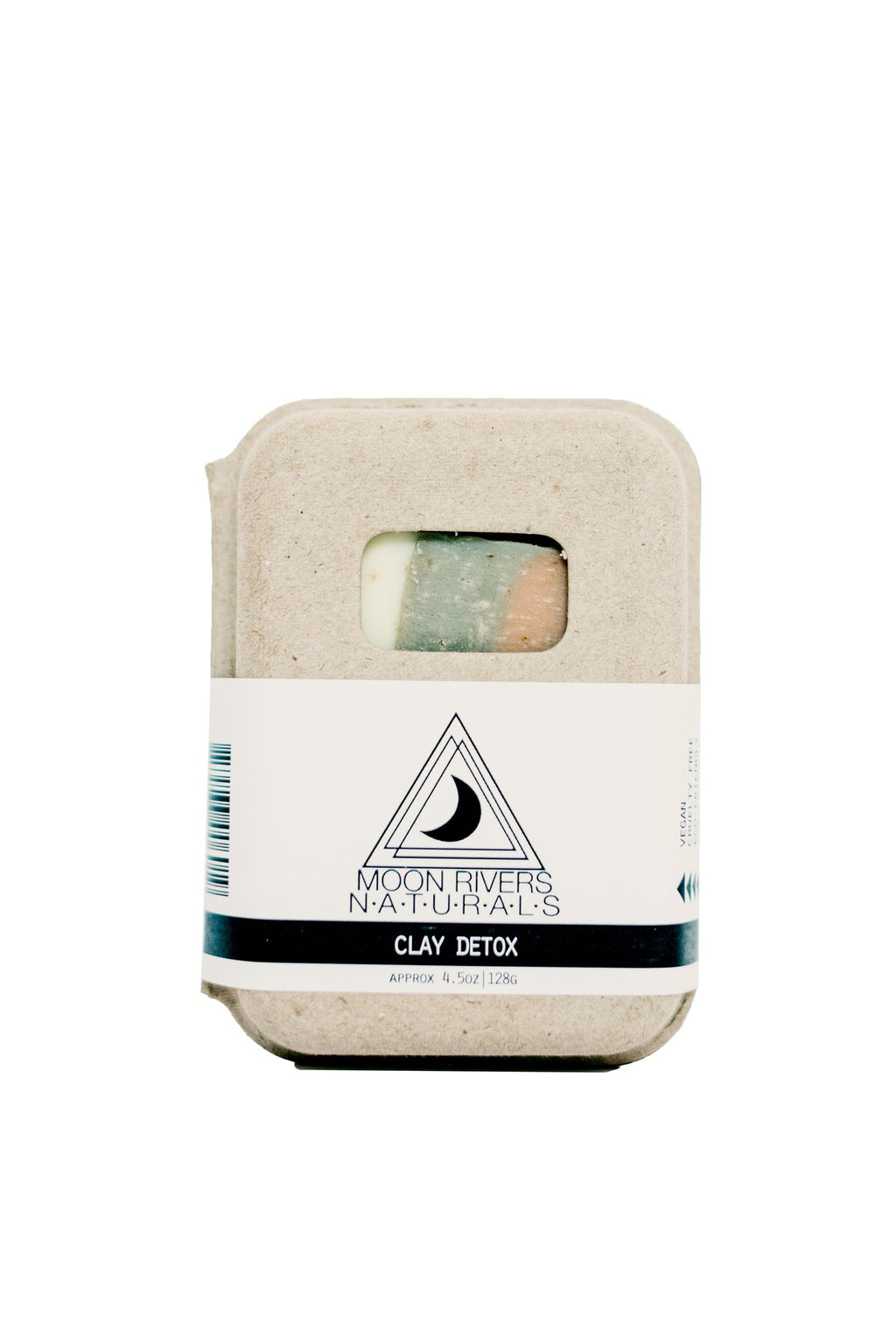 MOON RIVERS NATURALS Clay Detox Soap