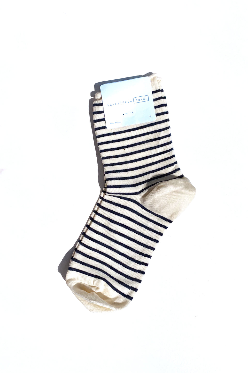 HANSEL FROM BASEL Nautical Stripe Crew Ivory/Blue