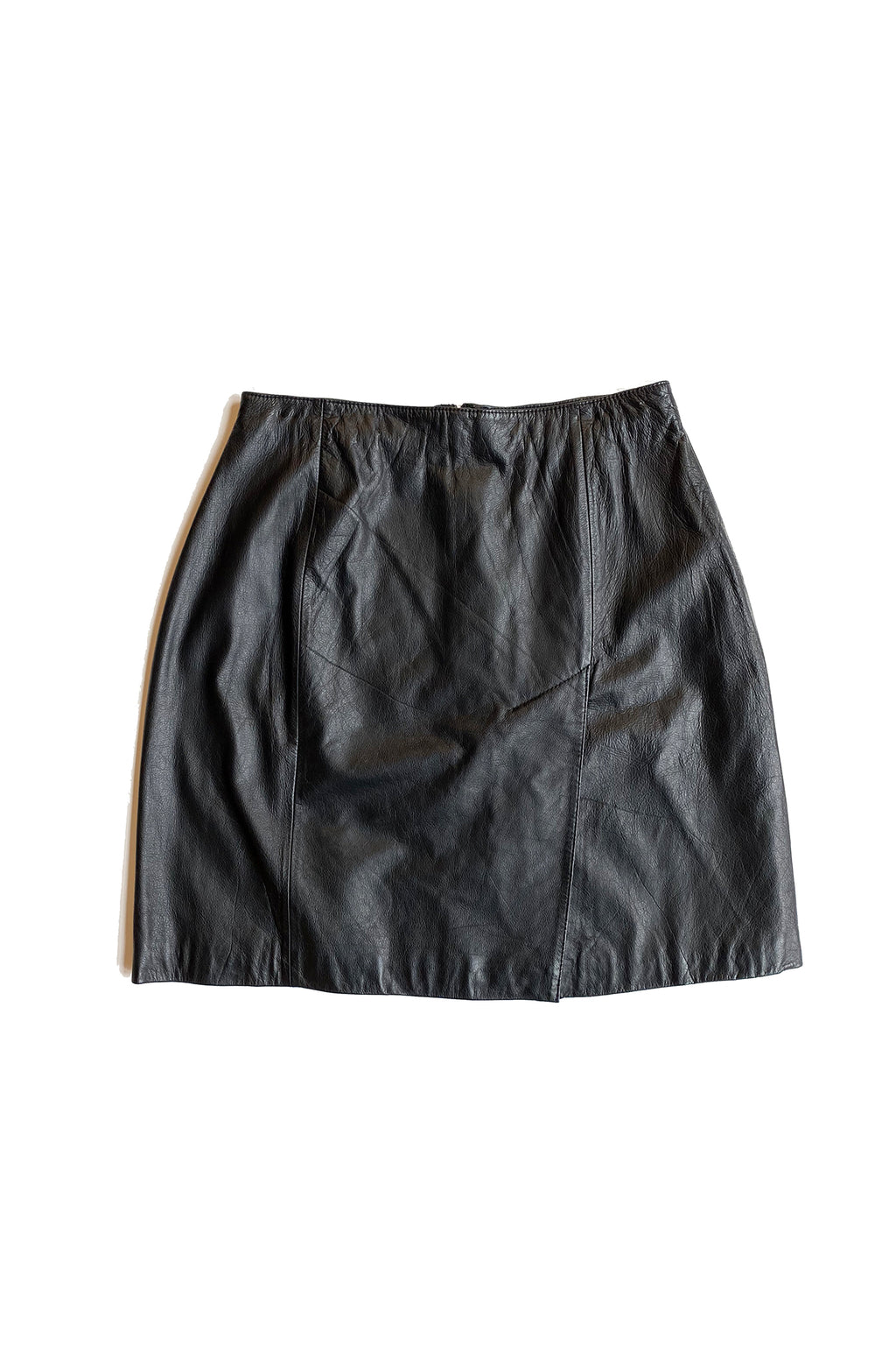 Vintage Brandon Thomas Leather Skirt