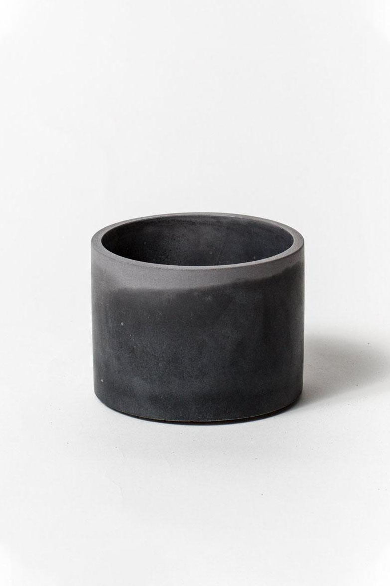 "PRETTI.COOL 4"" Vessel in Black & Gray"