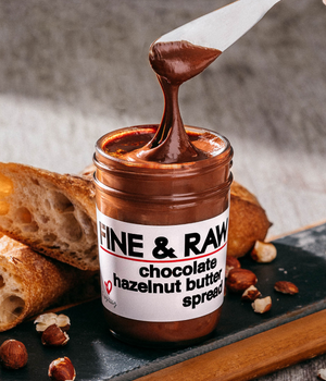 FINE & RAW Chocolate Hazelnut Butter Spread