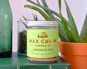 Wax Cabin Candle Co. // Limonada de Coco Soy Candle