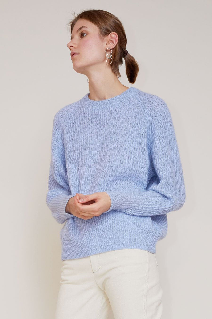 No.6 Darwin Sweater in Sky
