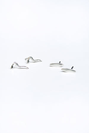 ODETTE NEW YORK Sterling Silver Mini Ligne Earring