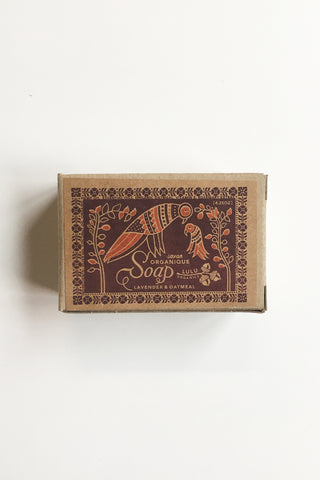 Lulu Organics // Lavender and Oatmeal Soap