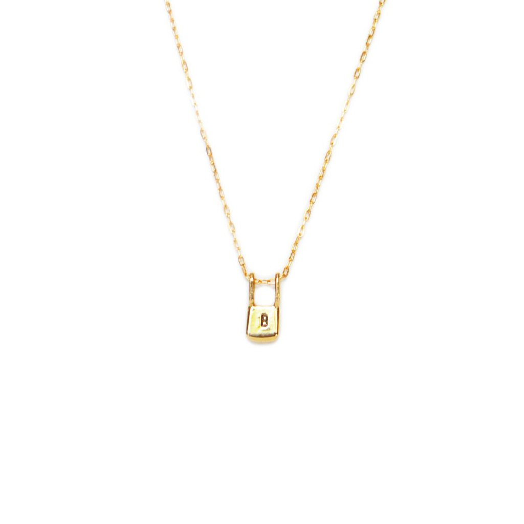 Gold Tote Necklace