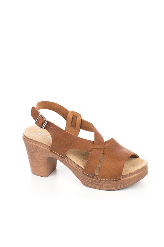 CALOU Minna Sandal in Cinnamon
