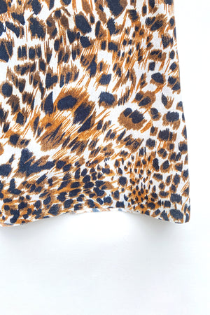 Nanushka Animal Print Una Top