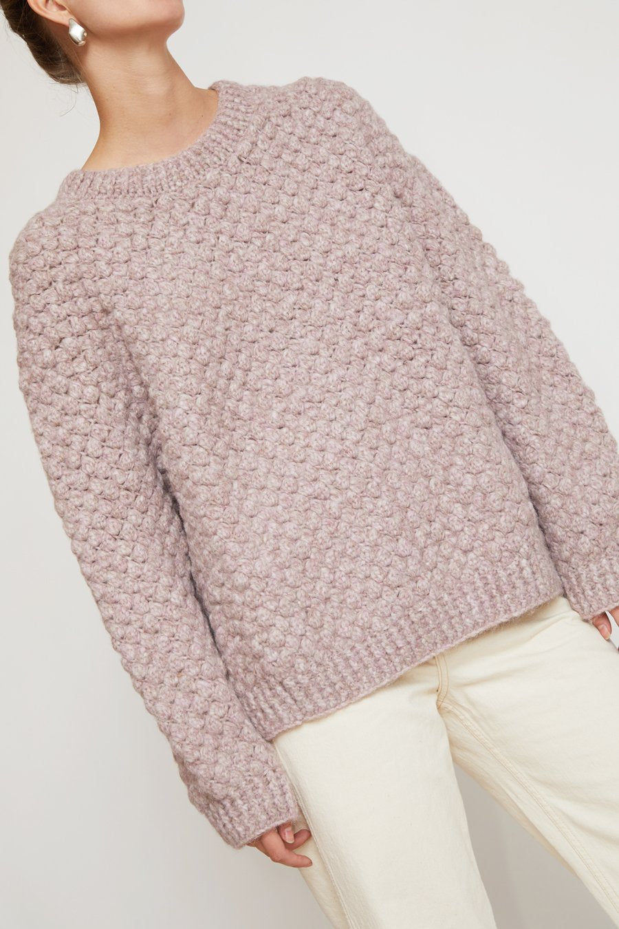 No.6 Bryce Sweater in Lilac