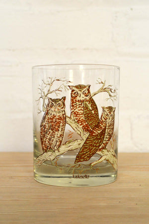 Owl low ball glasses - 6