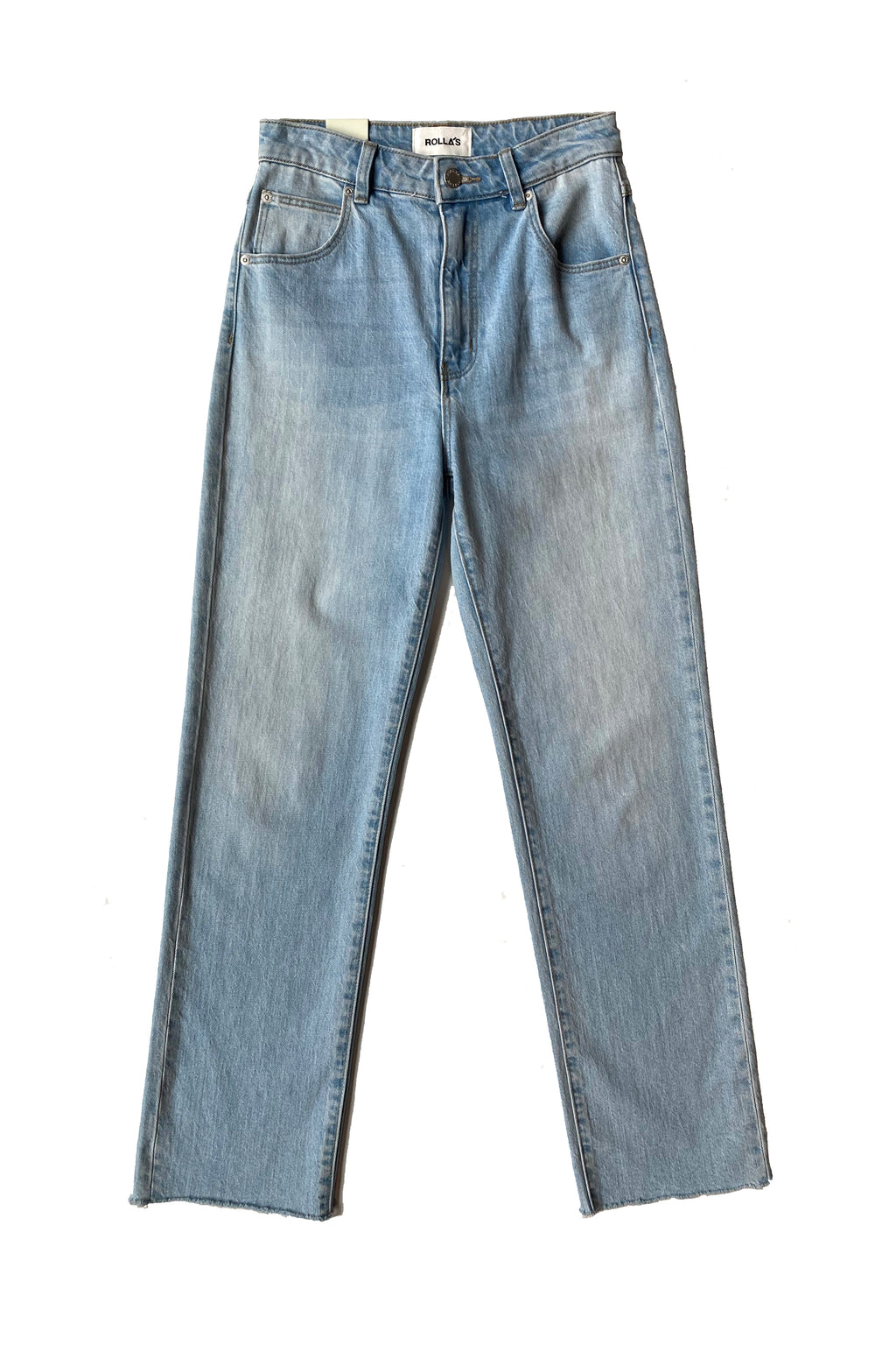 ROLLAS Original Straight Jean in Comfort Sky