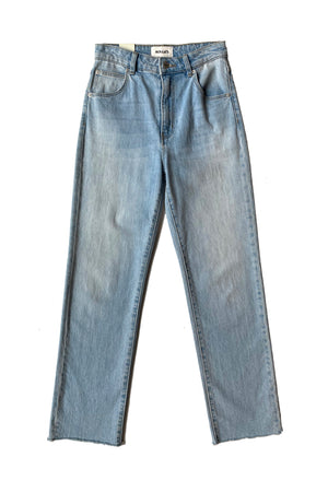 ROLLA'S Original Straight Jean in Comfort Sky