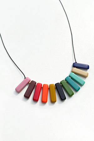 I. RONNI KAPPOS Spectrum Necklace