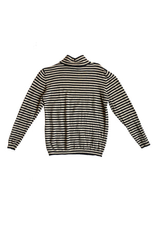 Nordstrom Mock Neck Stripe Sweater