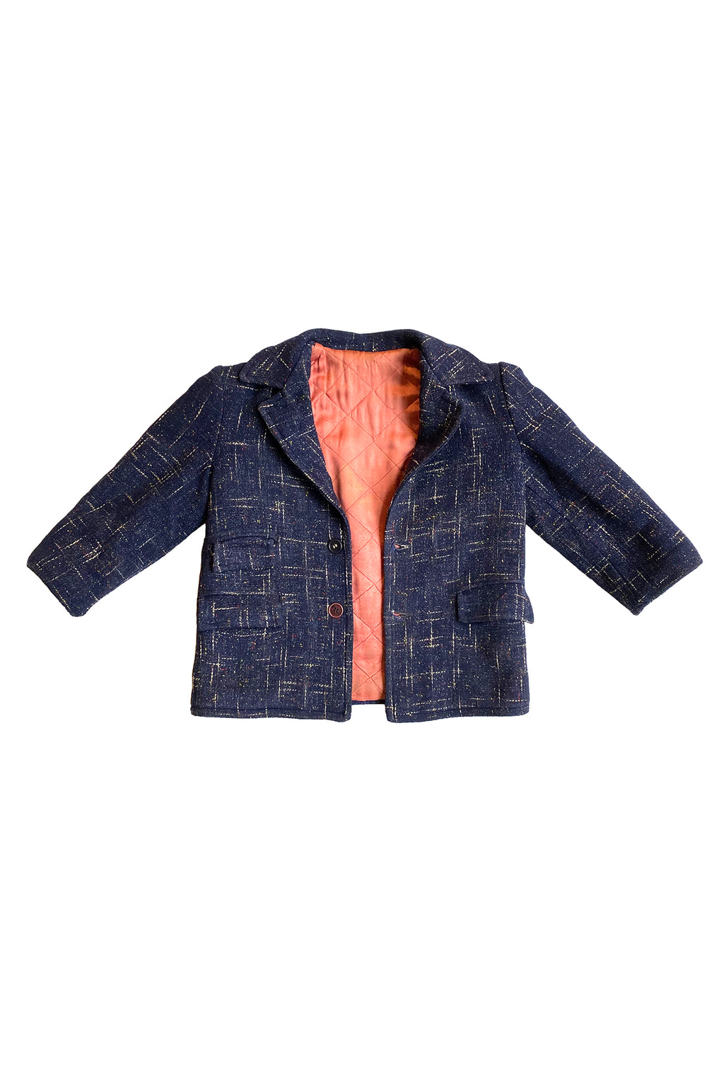 Vintage tweed short jacket