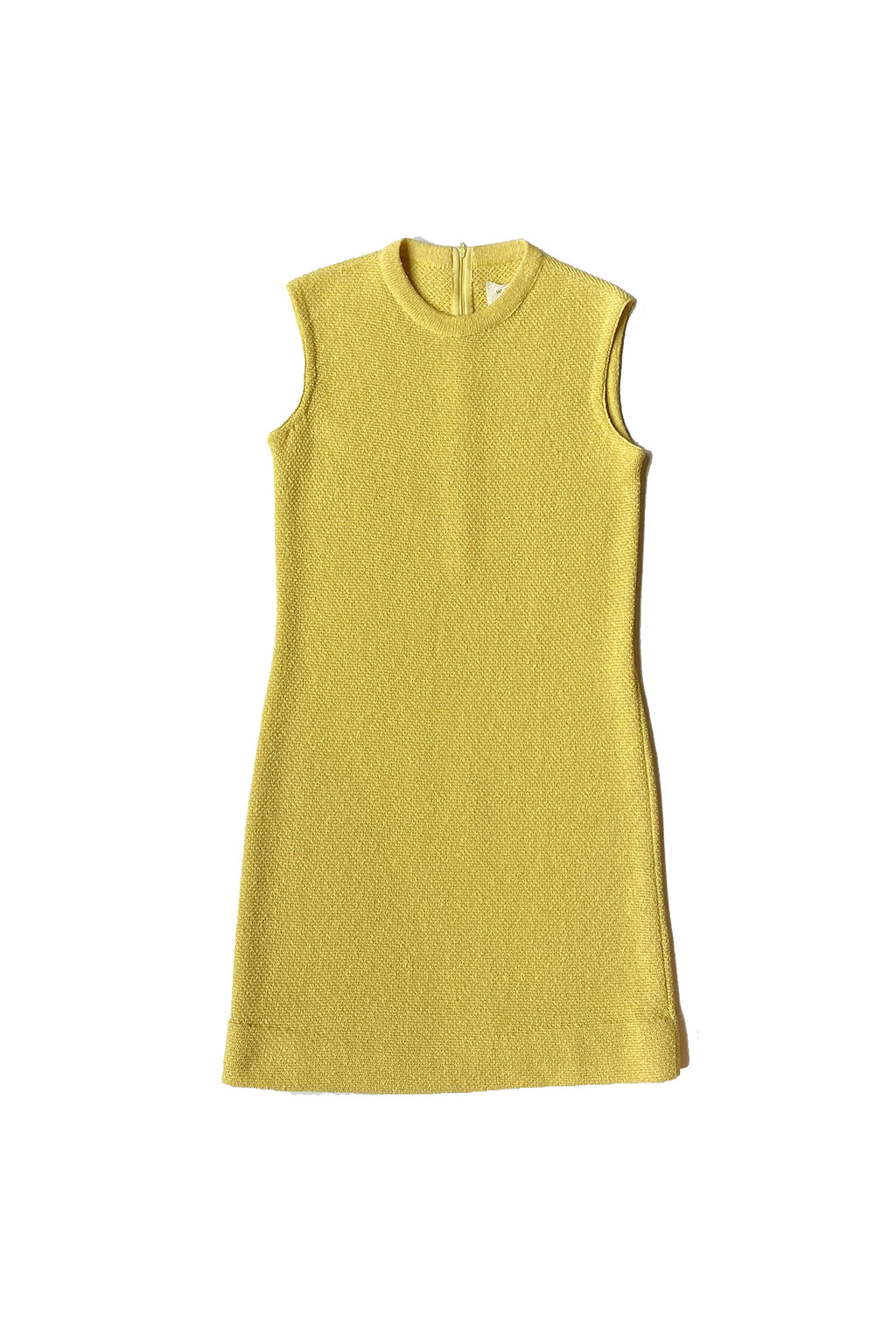 Buttercup yellow Worth knit dress and jacket