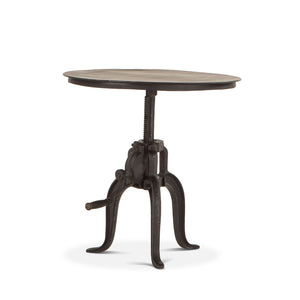 Seville Industrial Adjustable Side Table - 1