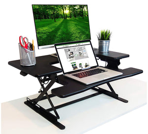 Black Wood Desk Riser