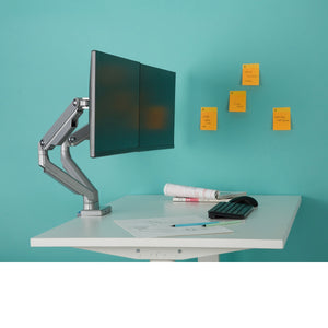 Percy Dual Monitor Mount - 1