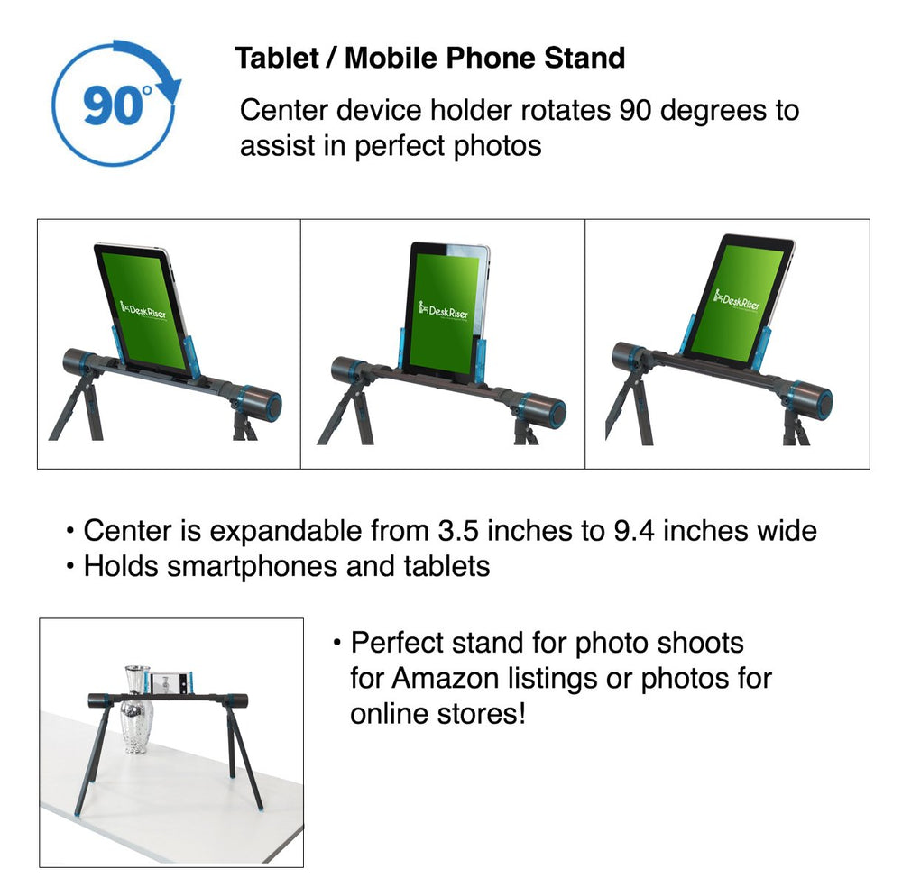 Remarkable Tablet Stand Deskriser Com Gmtry Best Dining Table And Chair Ideas Images Gmtryco