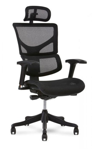 X Chair - Black - 1