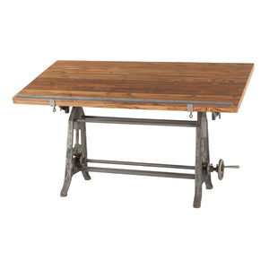 Beirut Industrial Drafting Table - 1