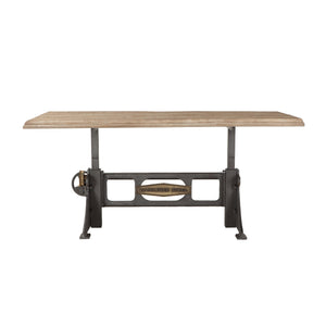 Jordan Steel Adjustable Height Table