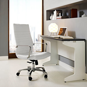 Finesse High Back Chair - White
