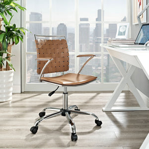 Rosette Office Chair - Tan - Office Picture